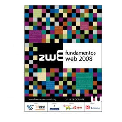 Cartel Fundamentos web 2008