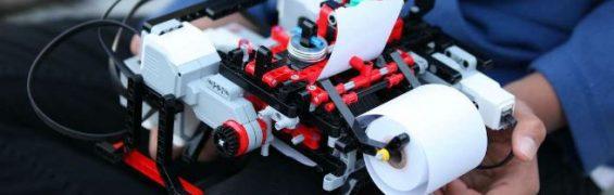 Impresora Braille con Lego