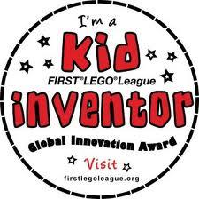 Kid Inventor. First Lego League. Global Innovation Award