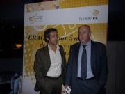 Paco Prieto y Pablo Priesca en Aniversario 5º Fundetec
