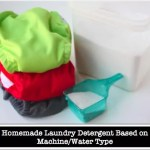 "Homemade Laundry Detergent ""Recipes"" Based On Different Water/Machine Types"