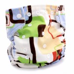 Kawaii Baby Snazzy Minky Cloth Diaper Review