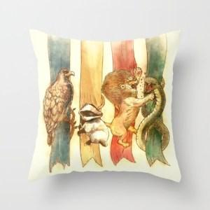 harry potter house-brawl-pillows