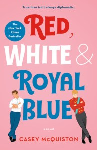 red, whit and royal blue