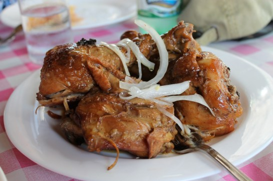 Roasted Chicken with Garlic Sauce