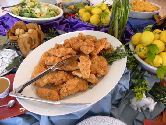 Fried chicken et Al- Salomon Shower