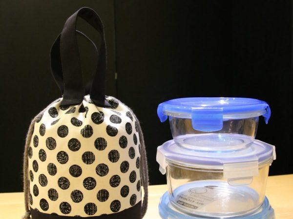 圓桶造型手提袋/餐袋