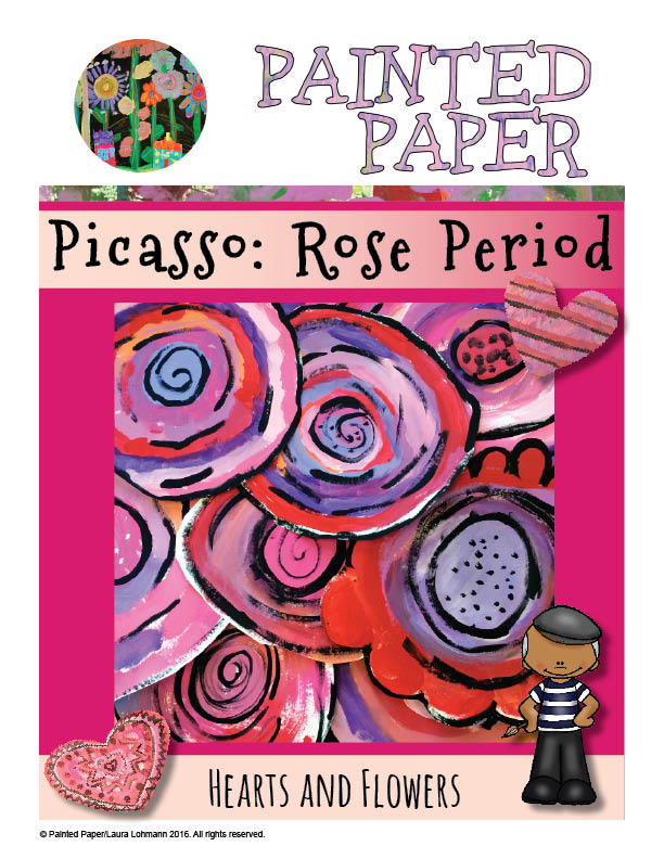 Picasso Rose Period cover