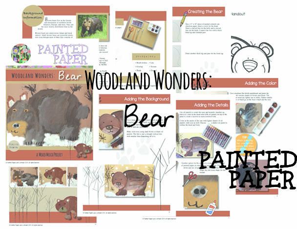 Woodland Wonders Bear preview