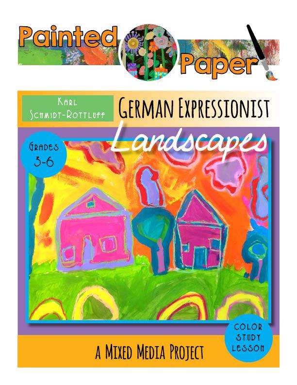 German Expressionist Landscapes cover