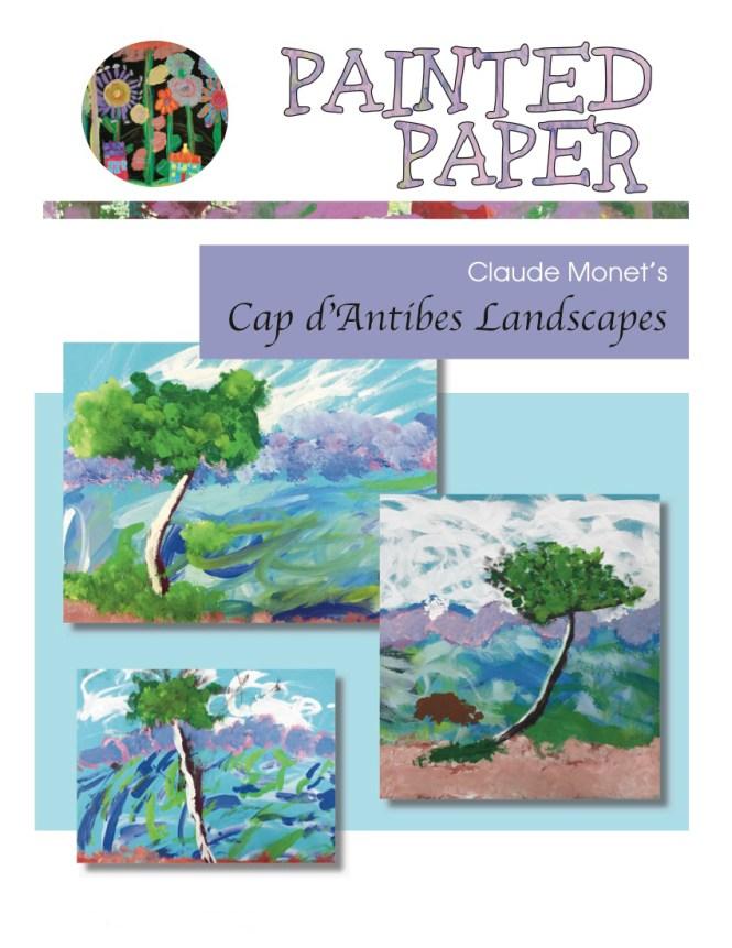 Monets Cap d Antibes Landscapes cover