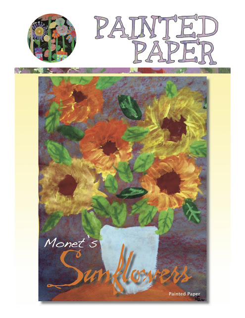 Monets Sunflowers cover