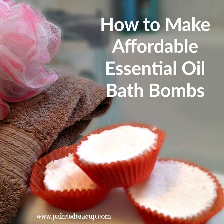 How to Make Affordable Essential Oil Bath Bombs