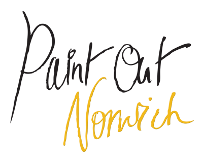 Paint Out Norwich logo, Plein Air painting, Art competition, Plein Air Norwich, 2015