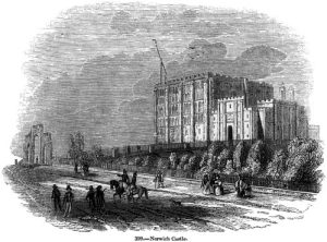 Norwich Castle from Charles Knight - Old England, A Pictorial Museum, 1845