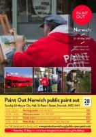 Paint Out Norwich 27-28 May Public Bus paintout