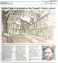 Paint Out Norwich People's Choice Award EDP 4 Nov 2014