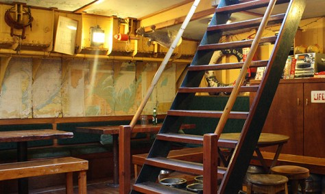 The Albatros Ship below decks, Well-next-the-Sea, Norfolk