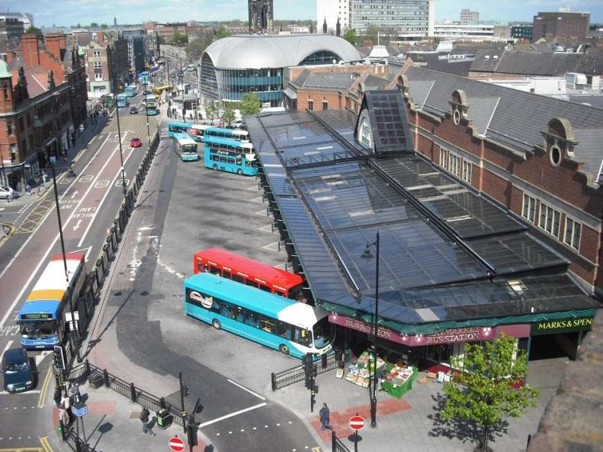 Newcastle Bus Station