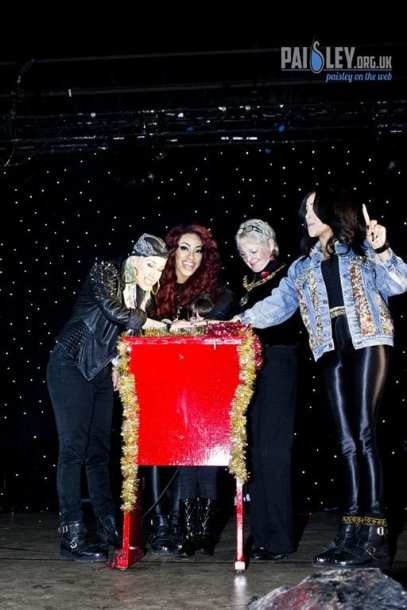 Paisley Christmas Lights 2012
