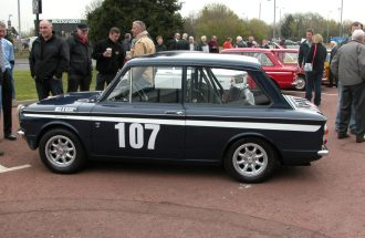 Hillman Imp Linwood Rally
