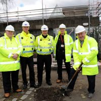 Work starts on a new community safety partnership hub for Renfrewshire
