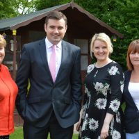 LOCAL MP VISITS ALZHEIMER SCOTLAND IN PAISLEY