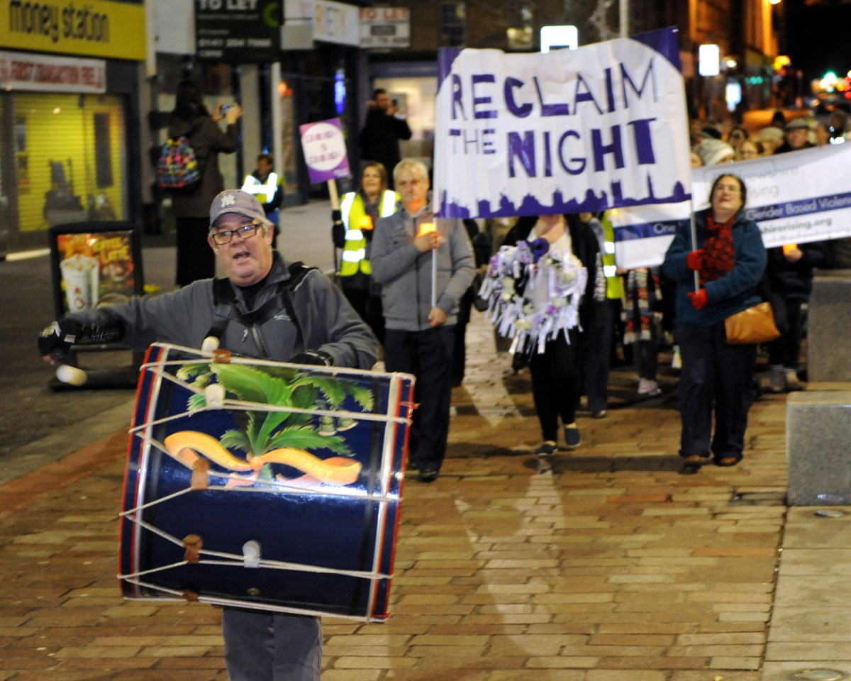 Renfrewshire unites to Reclaim the Night
