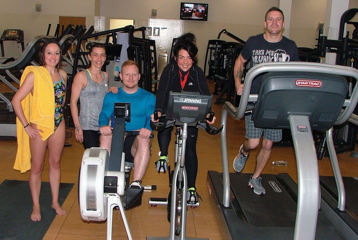 Good sports raising cash for local hospices