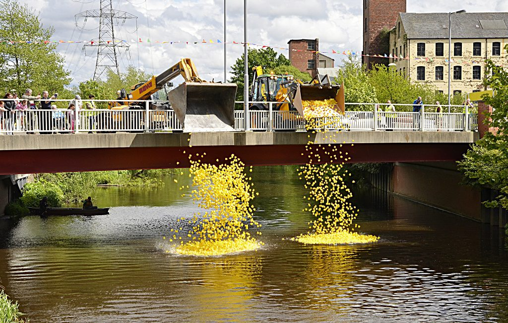 Paisley & District Scouts will host their annual charity Duck Race Photographs