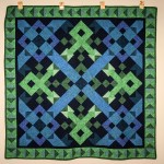 Ribbon and Blues Quilt