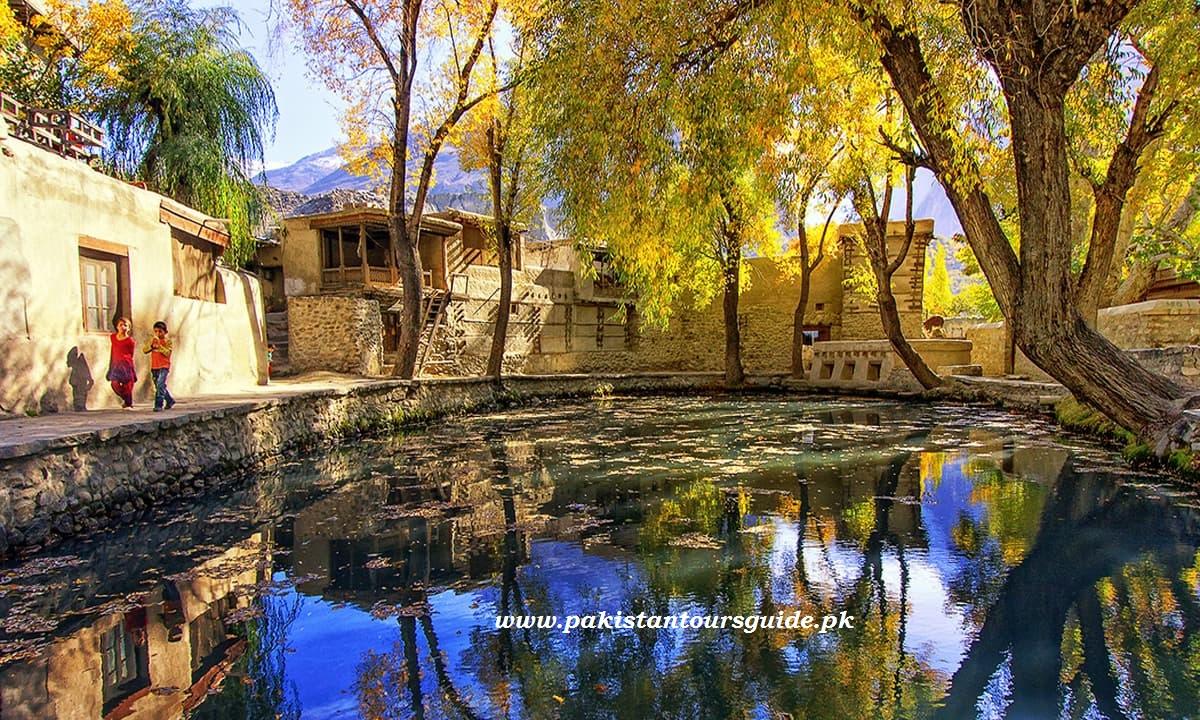 Ganish village in Hunza