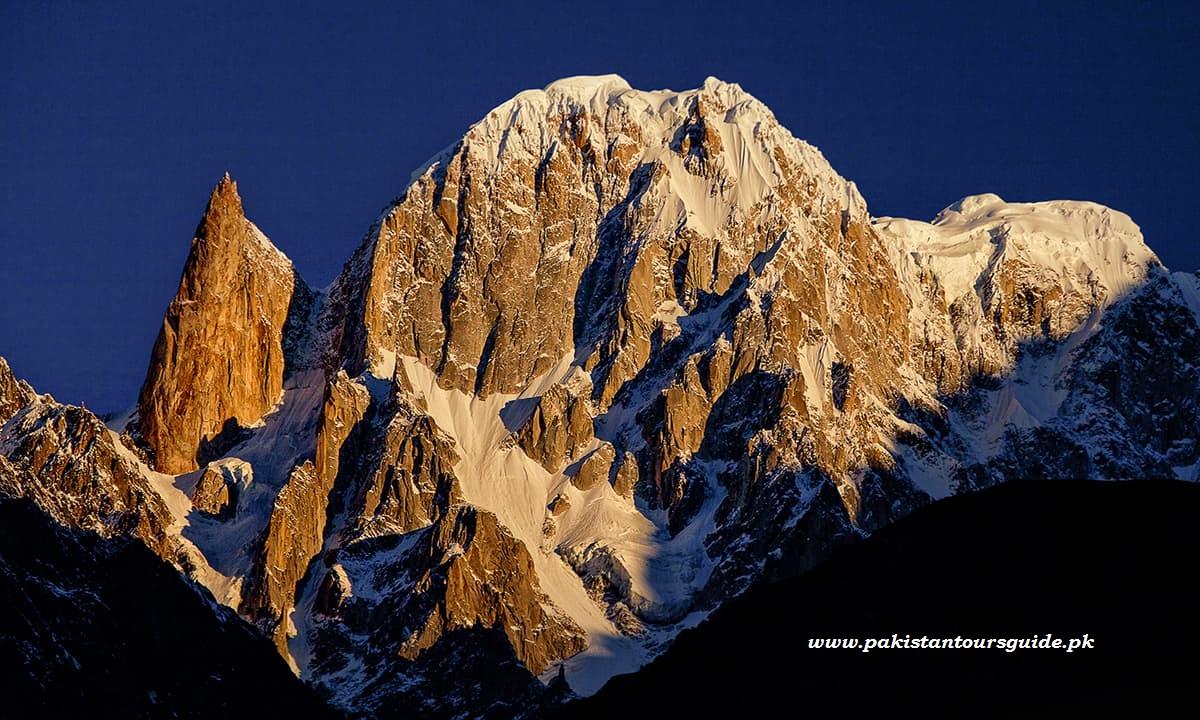 Hunza peak and Lady Finger