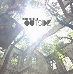 "Capa do disco ""Outside"", da Comma"