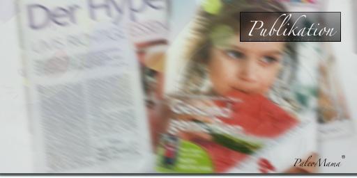 Publikation Baby und Familie zum Thema Paleo Ernährung