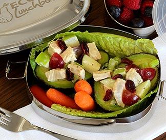 Paleo Chicken, Apple, Grape Stuffed Avocado Recipe