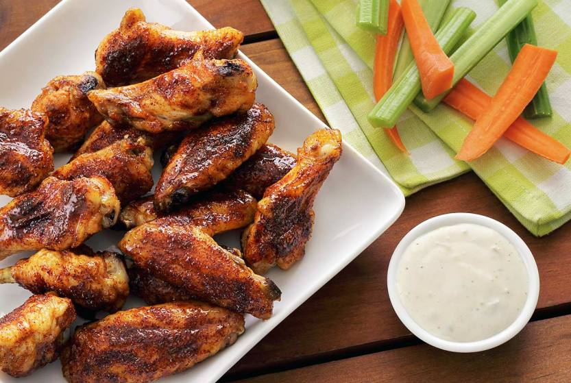 simple recipe for paleo honey-chipotle baked wings
