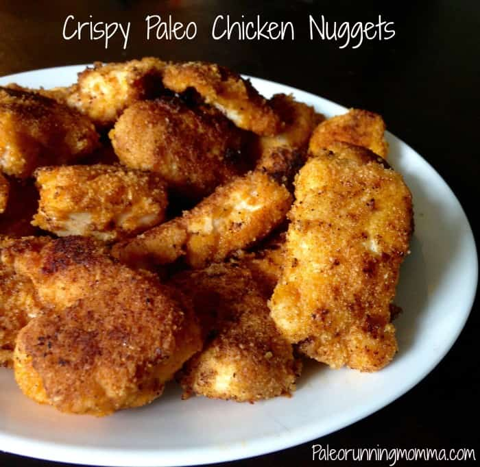 Crispy Paleo Chicken Nuggets