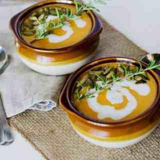 Curried Sweet Potato Soup | PaleoScaleo.com