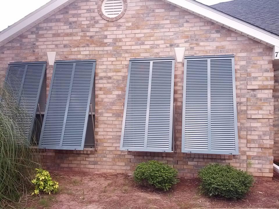 Window Shutters Greenville Palmetto Outdoor Spaces Llc