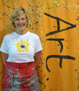 Art Works founder and owner Marci Lamb (photo by Bella Graves)