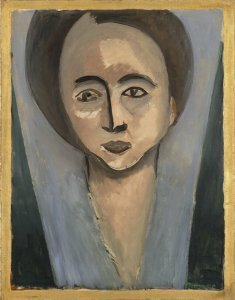 Portrait of Sarah Stein by Henri Matisse, 1916. Image by SF MOMA.