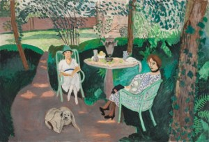 """Tea"" by Henri Matisse was once prominently displayed at the Stein home at 433 Kingsley in Palo Alto. Image by LACMA."