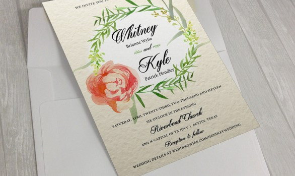 Hendley: Wedding Invitation