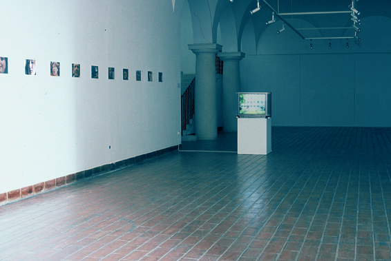 Ghost Town, Museum of Contemporary Art. Dubrovnic, Photo Jean de Breyne, Pam Skelton, 2002.
