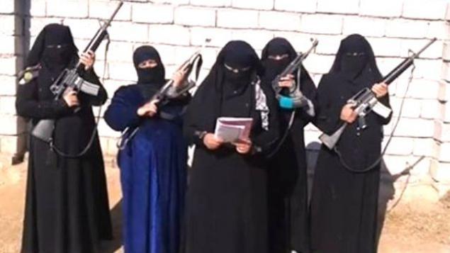 SYRIA - Syrie femmes djihadistes (2017 10 31) FR (2)