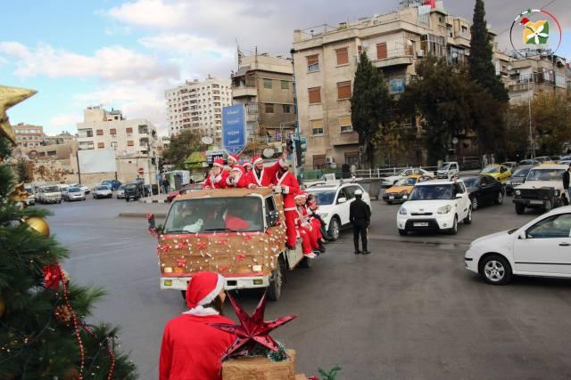 SYRIA - Noel à damas (2017 12 25) FR (2)