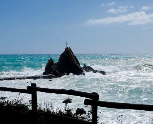 Mittelmeer bei Sestri Levante