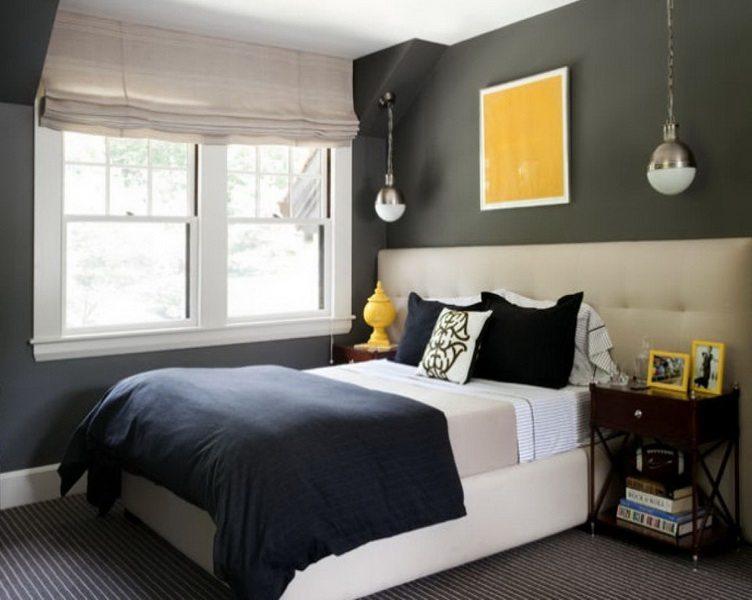 desain kamar tidur sederhana dengan nuansa warna desain