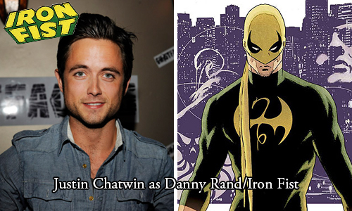 Chatwin as Iron Fist